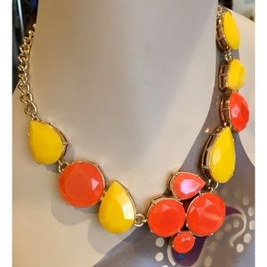 Gorgeous J Crew Large Jeweled Statement Necklace